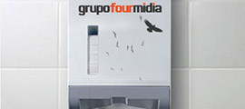 Foto Grupo Four Midia - Dispenser e Papel Toalha